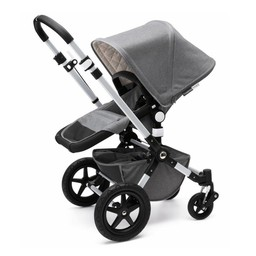Bugaboo Bugaboo Cameleon - ÉDITION LIMITÉE CLASSIQUE+, Base et Habillage pour Poussette Cameleon³, Gris Mélange/CLASSIC+ LIMITED EDITION, Base and Tailored Fabric Set for Bugaboo Cameleon³ Stroller, Grey Melange