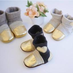 Nooks Design - Chaussons pour Bébé/Baby Slippers, Fille/Girl, 6-12 Mois/Months