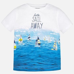 Mayoral *Mayoral - T-Shirt Voiliers/Sail Boats T-Shirt