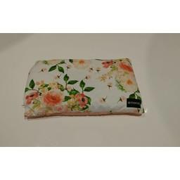 Maovic Maovic - Oreiller de Sarrasin/Buckwheat Pillow, Fleurs Pêche/Peach Flowers