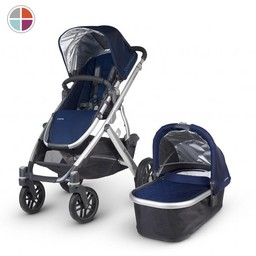 UPPAbaby *Uppababy Vista - Poussette/Stroller, Base Aluminium