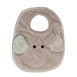 Zoocchini Bavette pour Bébé de Zoocchini/Zoocchini Baby Bibs, Elle l'Elephant/Elle the Elephant