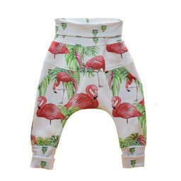 Little Yogi Little Yogi - Pantalon Évolutif Flamants/Flamingo Evolutive Pants