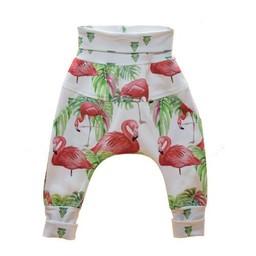 Little Yogi Little Yogi - Pantalons Évolutifs Flamants/Flamingo Evolutive Pants