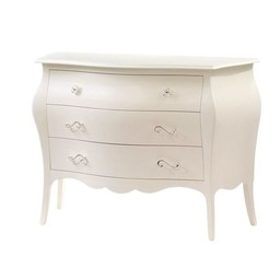 Natart Juvenile Natart Allegra - Commode à 3 Tiroirs/3 Drawer Dresser, Blanc Français/French White