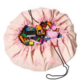 Play & Go Play & Go - Sac de Rangement/Storage Bag, Éléphant Rose/Pink Elephant