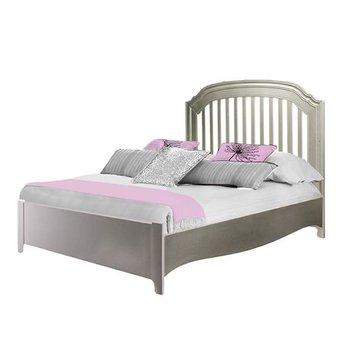 natart juvenile natart alexa lit double avec pied de lit profil bastwin - Lit Bas