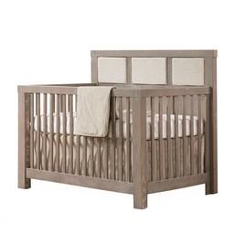 Natart Juvenile Natart Rustico - 3 Panneaux Rembourrés Supplémentaires Talc pour Lit Convertible/Extra 3 Small Talc Upholstered Panels