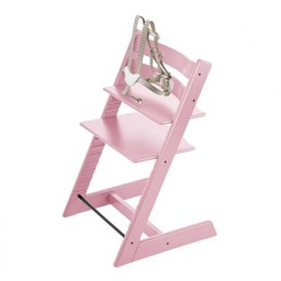 Stokke Stokke Tripp Trapp - Chaise Haute/High Chair, Rose Doux/Soft Pink