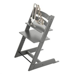 Stokke Stokke Tripp Trapp - Chaise Haute/High Chair, Gris Tempête/Storm Grey