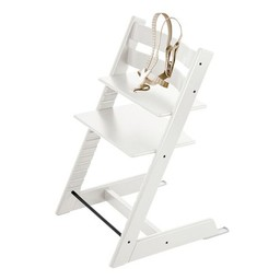 Stokke Stokke Tripp Trapp - Chaise Haute/High Chair, Blanc/White