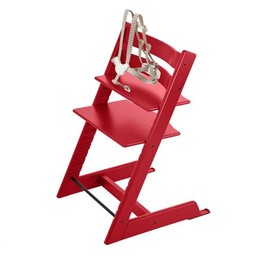 Stokke Stokke Tripp Trapp - Chaise Haute/High Chair, Rouge/Red