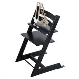 Stokke Stokke Tripp Trapp - Chaise Haute/High Chair, Noir/Black