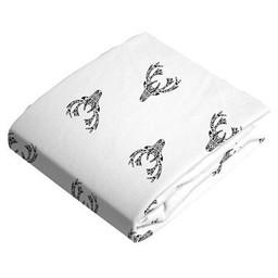 Kushies Kushies - Drap Contour de Flanelle pour Matelas à Langer/Flannel Change Pad Fitted Sheet, Cerfs/Deers