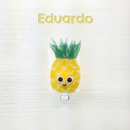 Veille Sur Toi Veille Sur Toi, Veilleuse en Verre Eduardo L'Ananas/Glass Nightlight Pineapple Eduardo