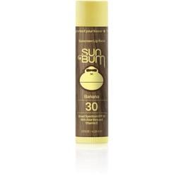 SunBum SunBum - Baume à Lèvre FPS 30/SFP 30 Lip Balm, Banane/Banana