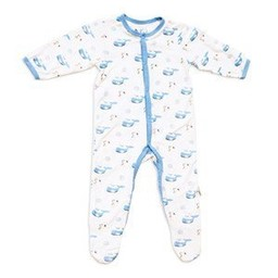 Kyte Baby Pyjama à Pattes Imprimé de Kyte Baby/Kyte Baby Printed Footie Océan/Ocean 3-6 Mois/Months