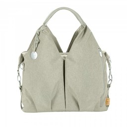 Lassig Lässig - Sac à Couches Écolo Ecoya/Green Label Neckline Ecoya Diaper Bag, Sable/Sand