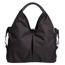 Lassig Lässig - Sac à Couches fait de Matières Recyclées /Green Label Neckline Bag, Noir/Black