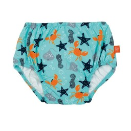 Lässig - Couche de Piscine/Swim Diaper, Poisson/Fish