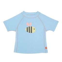 Lassig Lässig - Chandail de Piscine Manches Courtes Sous Marin/Short Sleeve Rashguard, Bourdon/Bumble Bee