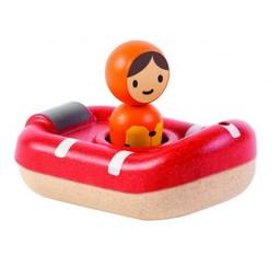 Plan Toys Plan Toys - Bâteau de la Garde Côtière/Coastguard Boat