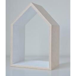 Ma Petite Maison Ensemble de 3 Maisons de Ma Petite Maison/Ma Petite Maison Set of 3 Houses, Blanc/White