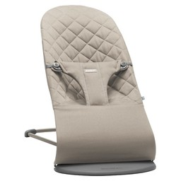 BabyBjörn BabyBjörn - Transat Bouncer Bliss/Bouncer Bliss, Gris Sable/Sand Grey