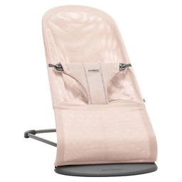 BabyBjörn BabyBjörn - Transat Bouncer Bliss en maille filet/Bouncer Bliss mesh, Rose Poudre/Powder Pink