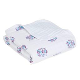 Aden + Anais Aden et Anais - Couverture pour Poussette Classique/Classic Stroller Blanket, Thistle
