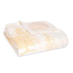 Aden + Anais Aden et Anais - Couverture de Rêve en Bambou/ Bamboo Dream Blanket, Bouleau Métallique/Metallic Birch