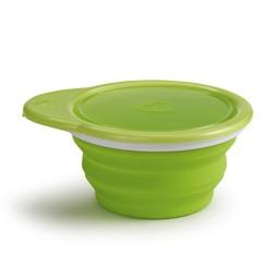 Munchkin Munchkin - Bol en Silicone GO/GO Bowl Silicone Bowl, Vert/Green