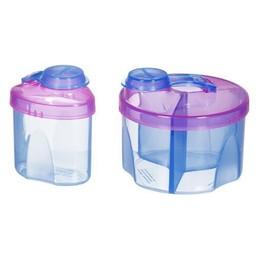 Munchkin Munchkin - Combo de Distributeurs de Lait en Poudre/Formula Dispenser Combo Pack, Mauve et Bleu/Purple and Blue