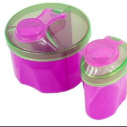Munchkin Munchkin - Combo de Distributeurs de Lait en Poudre/Formula Dispenser Combo Pack, Rose et Vert/Pink and Green
