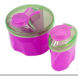 Munchkin Munchkin - Combo de Distributeurs de Lait en Poudre/Formula Dispenser Combo Pack, Rose et Vert/Pink and Green