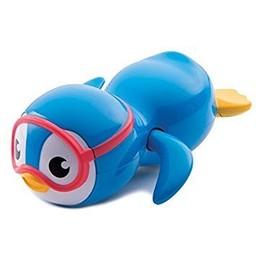 Munchkin Munchkin - Pingouin Nageur/Swimming Penguin, Bleu/Blue