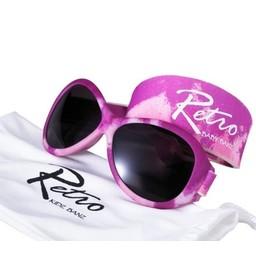 Baby Banz Baby Banz - Lunettes de Soleil Retro/Retro Sunglasses Rose/Pink