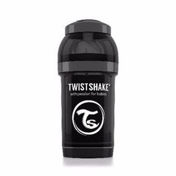 Twistshake Twistshake - Biberon Anti-Colique 180 ml/180 ml Anti-Colic Bottle, Noir/Black