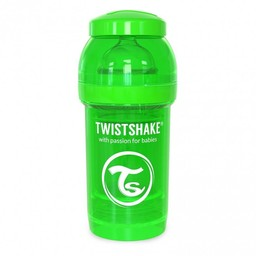 Twistshake Twistshake - Biberon Anti-Colique 180 ml/180 ml Anti Colic Bottle, Vert/Green