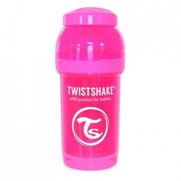 Twistshake Twistshake - Biberon Anti-Colique 180 ml/180 ml Anti Colic Bottle, Rose/Pink