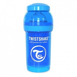 Twistshake Twistshake - Biberon Anti-Colique 180 ml/180 ml Anti Colic Bottle, Bleu/Blue