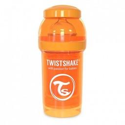 Twistshake Twistshake - Biberon Anti-Colique 180 ml/180 ml Anti Colic Bottle, Orange/Orange
