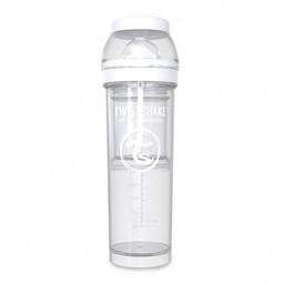 Twistshake Twistshake - Biberon Anti-Colique/Anti Colic Bottle 330 ml, Blanc/White