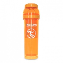 Twistshake Twistshake - Biberon Anti-Colique/Anti Colic Bottle 330 ml, Orange/Orange