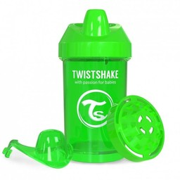 Twistshake Twistshake - Gobelet de Transition/Crawler Cup, Vert/Green