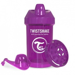 Twistshake Twistshake - Gobelet de Transition/Crawler Cup, Mauve/Purple