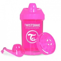 Twistshake Twistshake - Gobelet de Transition/Crawler Cup, Rose/Pink
