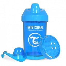 Twistshake Twistshake - Gobelet de Transition/Crawler Cup, Bleu/Blue