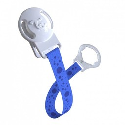 Twistshake Twistshake - Attache-Suce/Pacifier Clip, Bleu/Blue