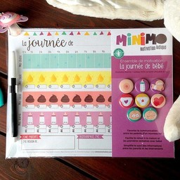Minimo Minimo - Ensemble de Motivation/Motivation Set,La Journée de Bébé/Baby's Day